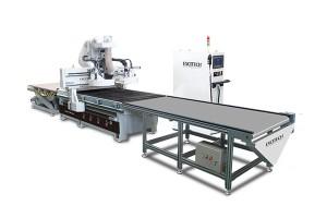 High precision nesting cnc woodworking machine